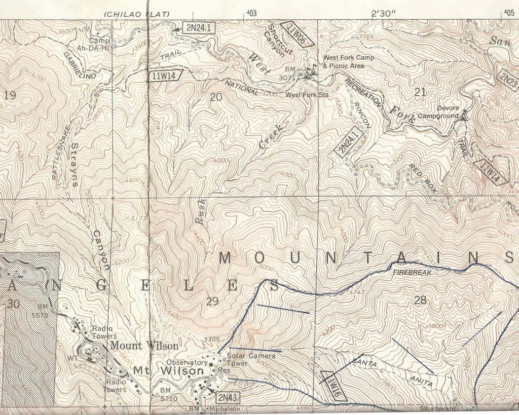 Canyon Cartography – Page 2 – Hand drawn hiking maps of Chantry ...